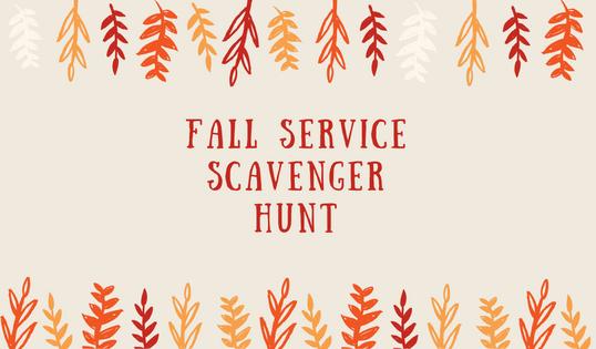 Service Scavenger Hunt – {Hands & Feet Outreach}
