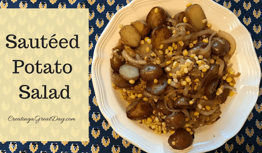 Sauteed Potato Salad: A Taste of Home