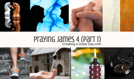 Praying James
